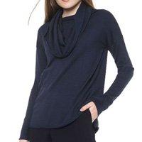 Suéter Calvin Klein Tricot Gola Rolê Azul-Marinho