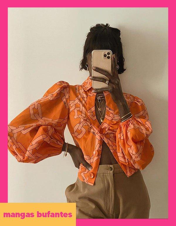It girls - Manga bufante - Blusa - Outono - Street Style - https://stealthelook.com.br