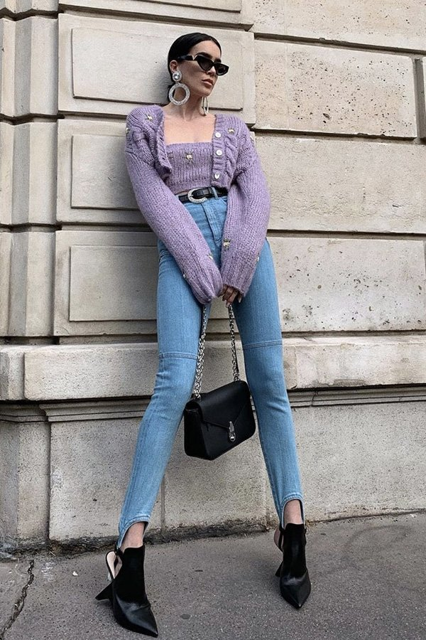 Brittany Xavier - cardigan cropped - cardigan - inverno - street style - https://stealthelook.com.br