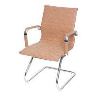 Cadeira Office Eames Esteirinha Fixa OR-3301 – Or Design - Caramelo