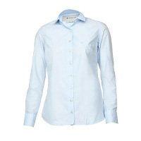 Camisa Dudalina Logo Azul
