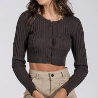 CARDIGAN TRICOT CROPPED