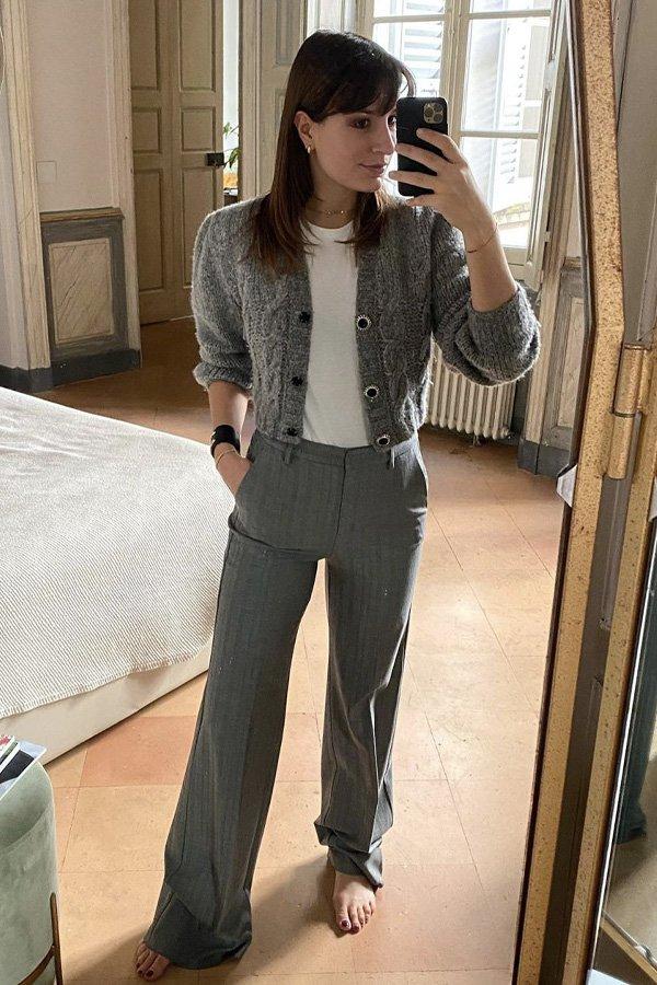 Carlotta Rubaltelli - cardigan cropped - cardigan - inverno - em casa - https://stealthelook.com.br
