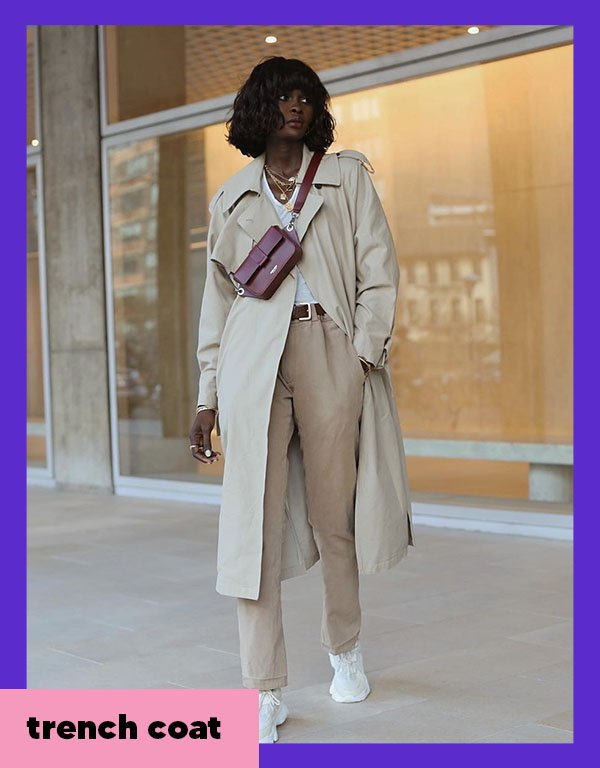 It girls - Trench coat - Casacos - Outono - Street Style - https://stealthelook.com.br