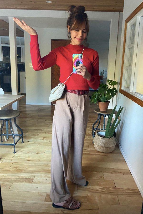 Catharina Dieterich - calças confortáveis - pantalona - inverno - em casa - https://stealthelook.com.br