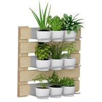 Kit Jardim Vertical Completo 5 Níveis Fosco Be Mobiliário