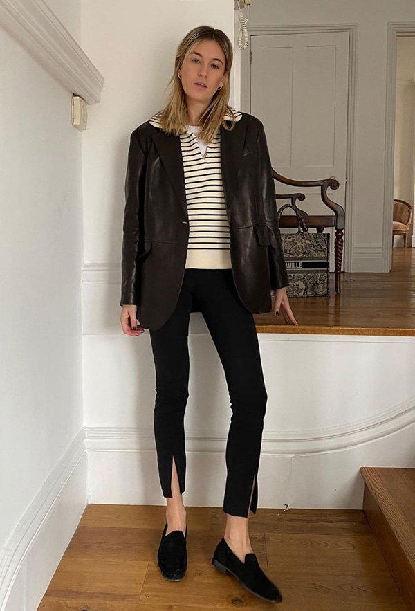 Camille Charriere - legging - legging - outono - street-style