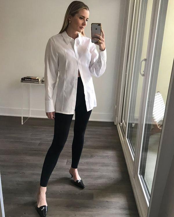 Kristen Marie Nichols - legging - legging - outono - street-style