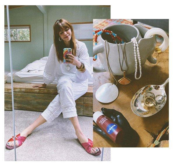 Catharina Dieterich - receita dos pijamas - looks - pijamas - em casa - https://stealthelook.com.br