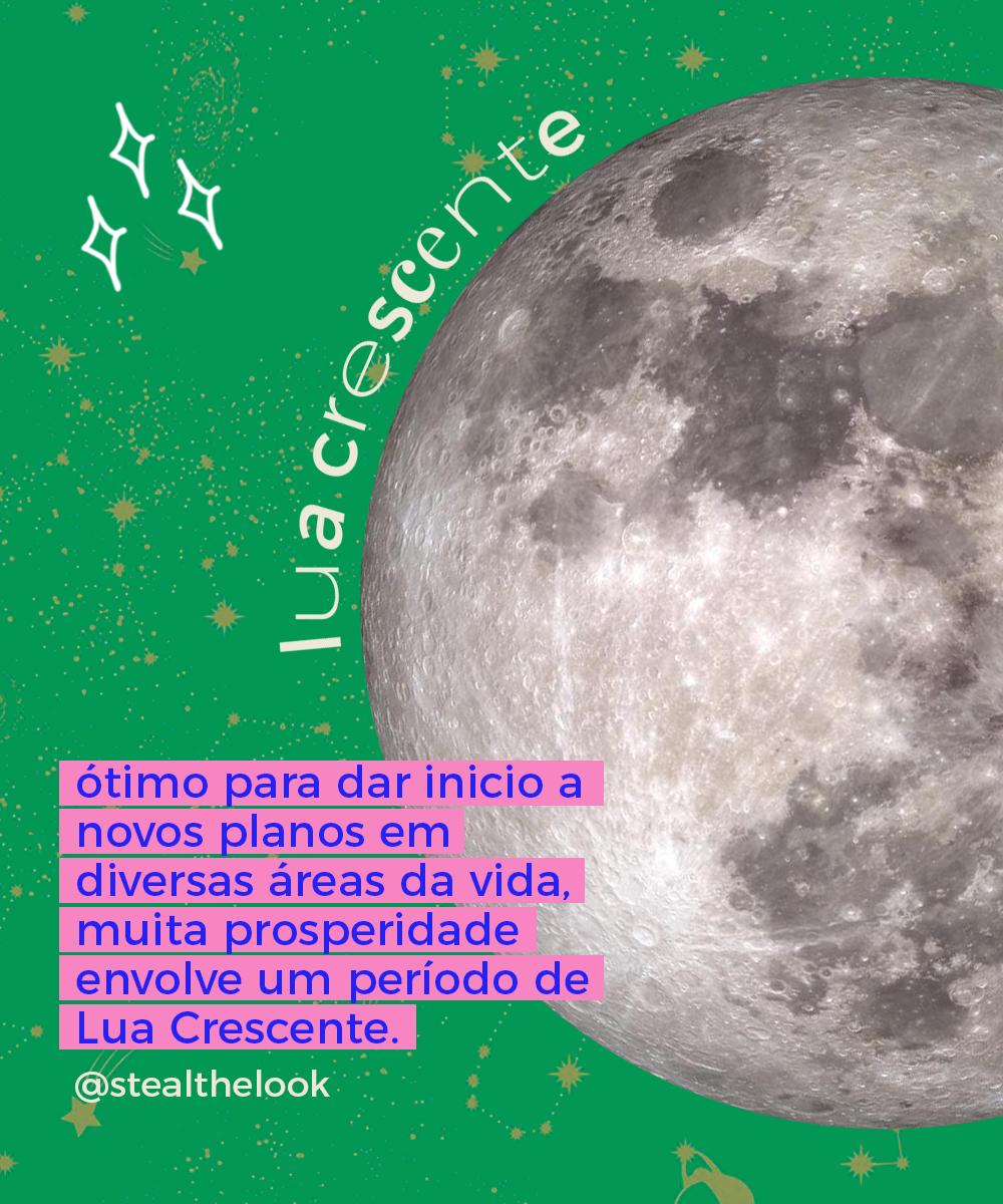 lua crescente - fases da lua - astrologia - lua crescente - cortar cabelo - https://stealthelook.com.br