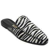 Mule Santa Lolla Zebra Preto/Branco
