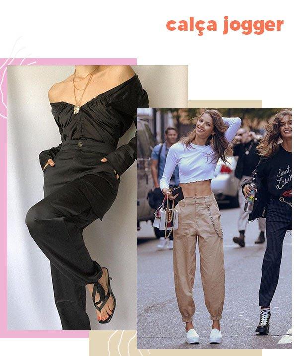 It girls - Calça jogger - calça jogger - Outono - Street Style