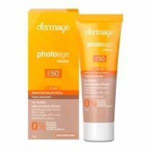 Protetor Solar Facial Dermage Photoage Mousse Claro Fps 50