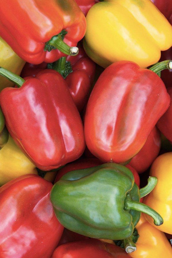 reprodução pinterest - vitamina c - receitas - alimentos - pimentão