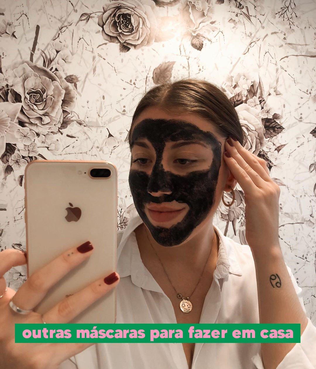 Giulia Coronato - Máscara facial - Skincare caseiro - Outono - Em casa - https://stealthelook.com.br