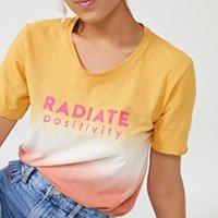 T-Shirt Tie Dye Radiate