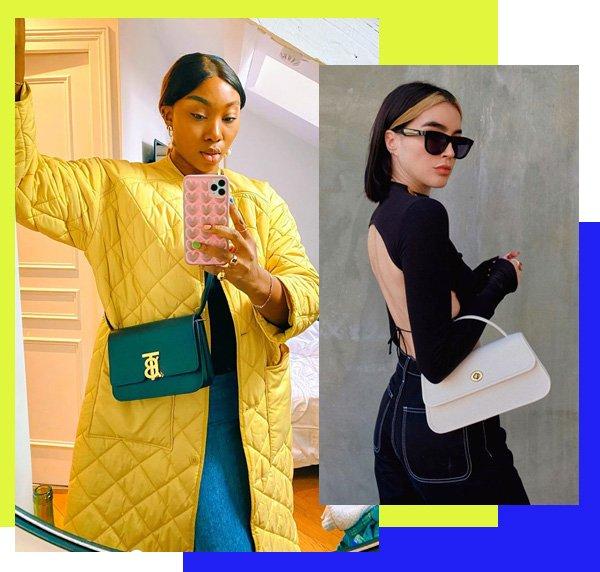Nnenna Echem, Brittany Xavier - bolsa-midi - bolsa-midi - outono - street-style