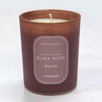 Vela Perfumada Aromatherapy Black Wood