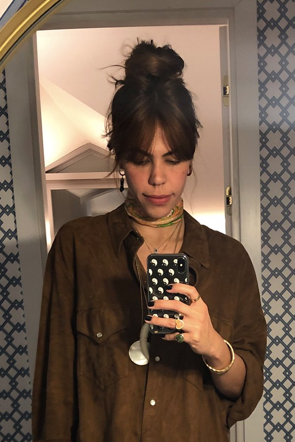 Catharina Dieterich - como cortar a franja - cabelos - inverno - street style - https://stealthelook.com.br