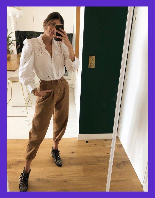 julie sergent ferreri - blusas da meia-estação - publi la mandinne - meia-estação - em casa - https://stealthelook.com.br
