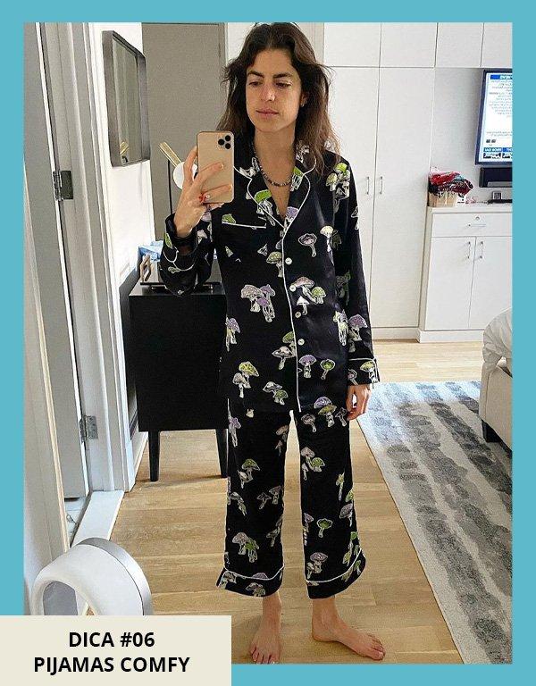 Leandra Medine - dormir melhor - wellness - meia-estação - em casa - https://stealthelook.com.br