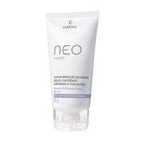 Máscara Eudora Neo Esfoliante Facial 3 Em 1 Branco
