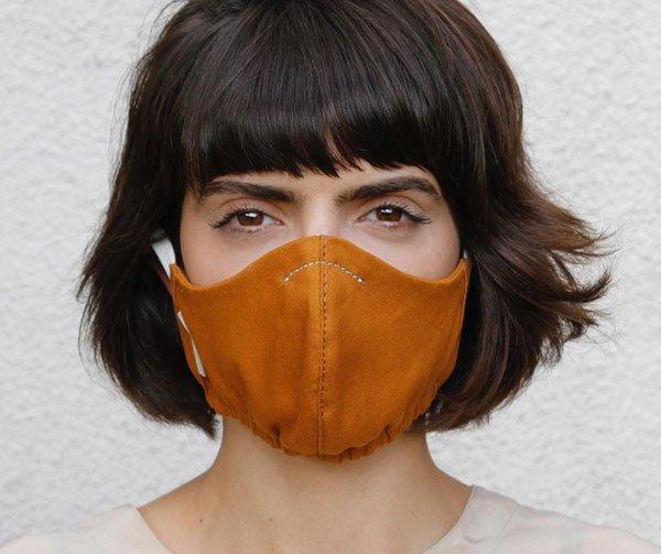 modelo - mascara - mascara - outono - estudio - https://stealthelook.com.br