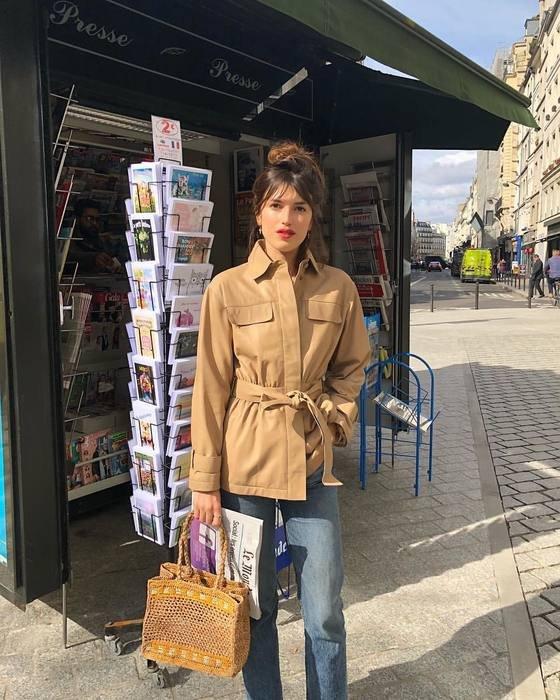 It girls - Jaqueta - Safari - Outono - Street Style - https://stealthelook.com.br