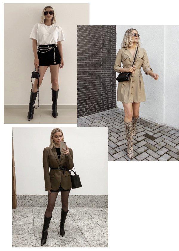 Monique Guerini - botas de inverno - looks - inverno - em casa - https://stealthelook.com.br