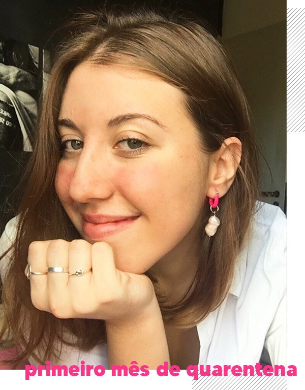 Giulia Coronato - Pele na quarentena - Acne - Outono - Street Style - https://stealthelook.com.br