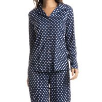 Pijama Longo Abotoado Poá Beatriz