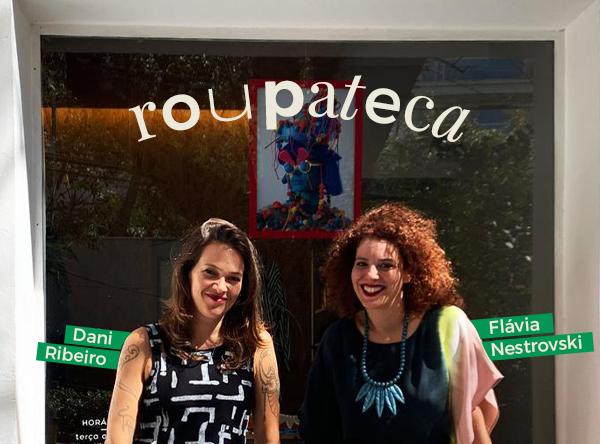 Dani Ribeiro e Flavia Nestrovski - aluguel de roupas - roupatca - inverno - street style - <a href=