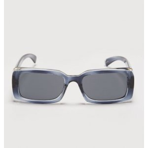 Óculos De Sol Acetato Retangular