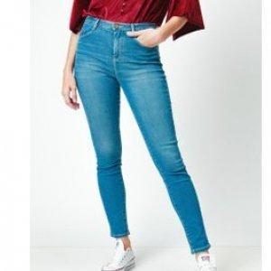 Calça Jeans Feminina Cintura Alta Stone Tamanho 36