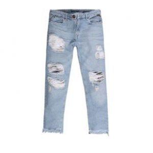 Calça Feminina Jeans Boycropped Used Cl Tamanho 36