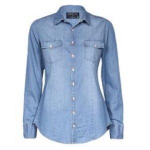 Camisa Feminina Jeans Ston+Used Tamanho M