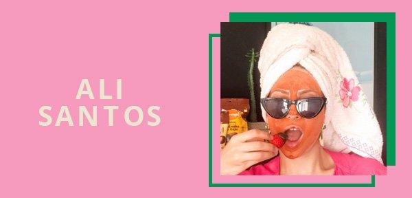Ali Santos - produtos de wellness - skincare caseiro - inverno - em casa - https://stealthelook.com.br