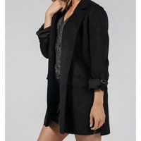 BLAZER SUEDE LONG