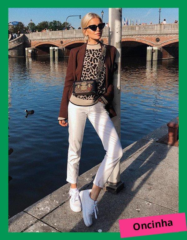Caroline Daur - modelos de suéteres - suéter - inverno - street style - https://stealthelook.com.br