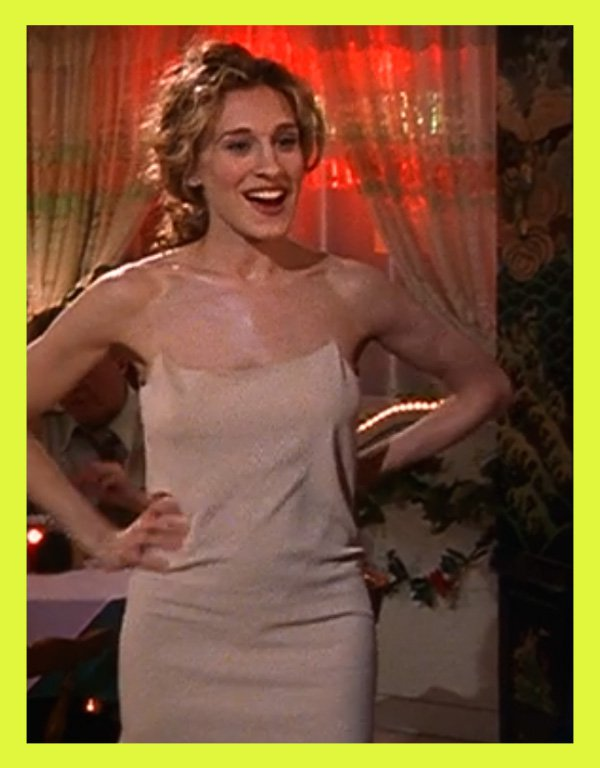 Sara Donaldson - carrie bradshaw - sex and the city - inverno - série - https://stealthelook.com.br