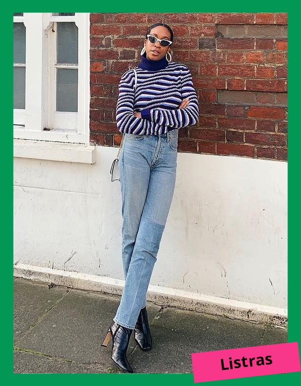Chrissy Rutherford - modelos de suéteres - suéter - inverno - street style - https://stealthelook.com.br