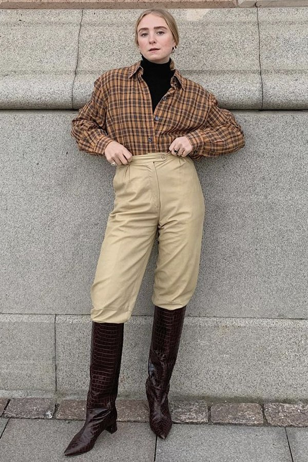 Fanny Ekstrand - looks de inverno - truques de styling - inverno - street style - https://stealthelook.com.br