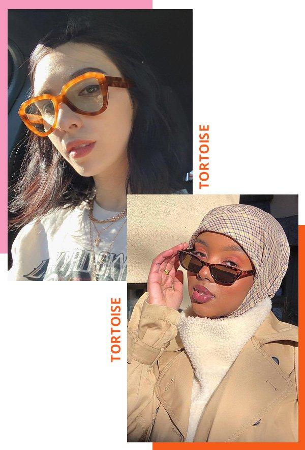 Frida Becker, Salma JJ - modelos de óculos de sol - óculos tortoise - inverno - street style - https://stealthelook.com.br