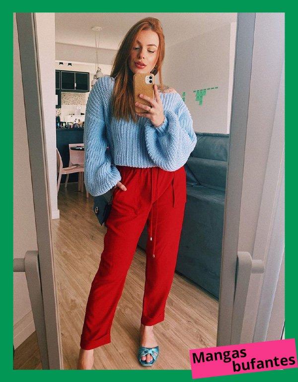 Gabi Moretti - modelos de suéteres - suéter - inverno - em casa - https://stealthelook.com.br