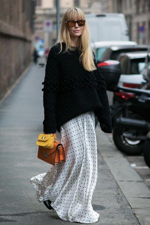 Jeanette Madsen - vestidos longos - looks de inverno - inverno - street style - https://stealthelook.com.br
