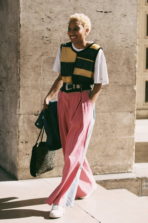 reprodução pinterest - colete de tricot - colete - inverno - street style - https://stealthelook.com.br