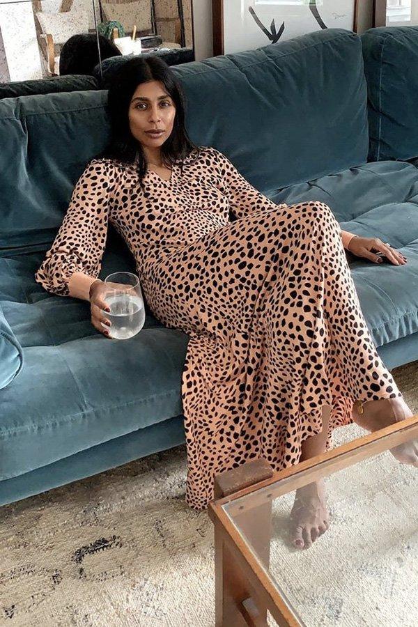 Monikh Dale - estampas de vestidos - vestidos - inverno - em casa - https://stealthelook.com.br