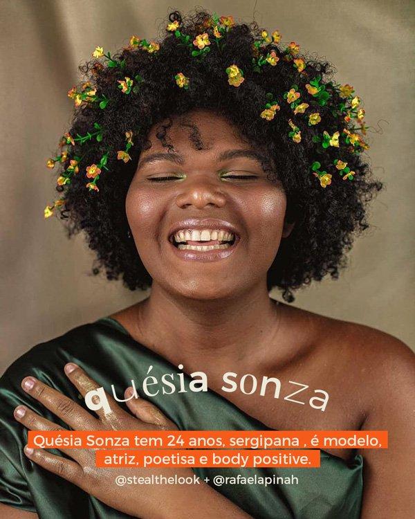 Quésia Sonza - vestido - lgbtqi+ - inverno - estudio - https://stealthelook.com.br