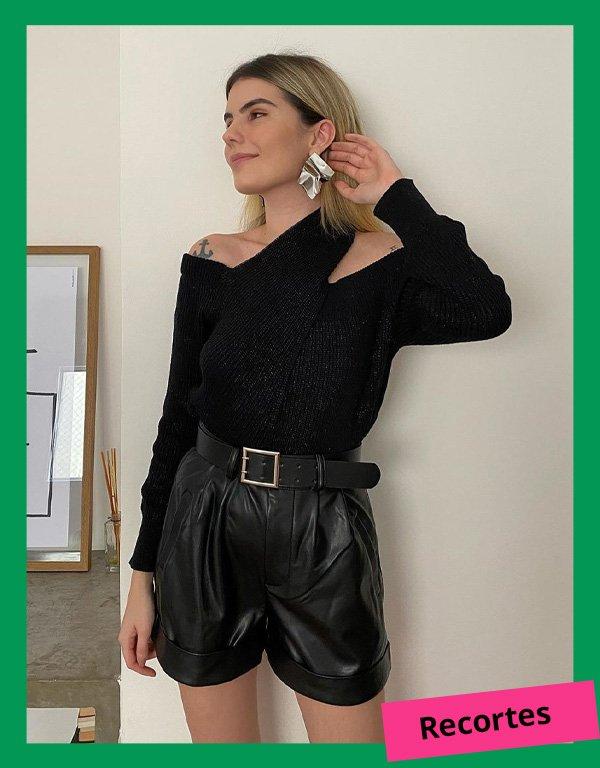 Myllena Dalla - modelos de suéteres - suéter - inverno - em casa - https://stealthelook.com.br
