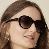 Óculos De Sol Redondo Classic
